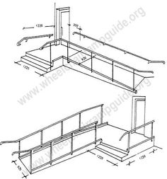 Wheelchair Ramp Plans Available Online For The Garage.: