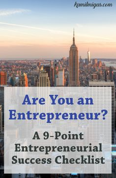 Are You An Entrepreneur Take Free Entrepreneur Test