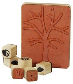 Sunnysue Jahreszeitenbaum Stempel 7er Set