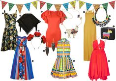 Cinco de Mayo is less than a week away—olé! Whether youre planning a festive fiesta for Sunday or simply attending one, its time to start putting together an outfit for the occasion. This colorful affair jubilates the spirit of spring and the heritage of our countrys southern neighbors, so thi