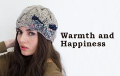 Warmth and Happiness from Grace Hats!