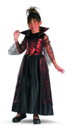 Girl's Gothic Princess Costume