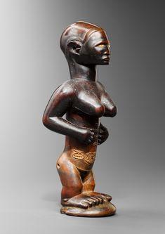 Congo, Statues, New York Photos, African Art, Carving, Sculpture, Paris, Collection, Ideas