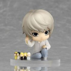 Death Note - Near - Nendoroid Petit - Nendoroid Petit Death Note Case File #02 - Crouching (Good Smile Company)