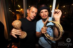 rob & eric from thievery corporation :)