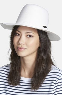 Women's Brixton 'Molly' Wool Hat - Ivory