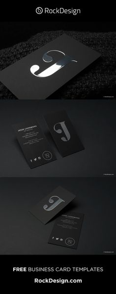 Foil Business Cards, Business Card Mock Up, Free Business Card Templates, Soft Suede, Black Silver, Luxury, Ideas, Business, Free Business Cards