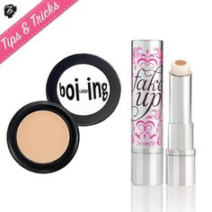 Beauty dilemma: You need full coverage but your eye area is super hydrated. We love to mix Boi-ing concealer with Fake Up for a dose of silky, smooth hydration with super strength cover up! #tipsandtricks #benefitcosmetics