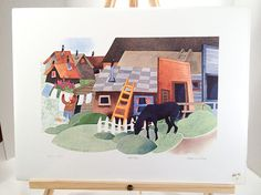 Atlin B.C. by Rie Munoz / Signed Limited Edition by greenviewlane