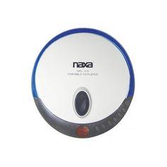 Naxa Slim Personal Compact Disc Player-Blue