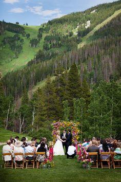 {BLOG} :: Kirsten & Kerry - Colorado mountain wedding at Beano's Cabin - Calluna Events