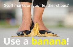 Remove+Leather+Scuff+Marks+with+a+Banana+Peel