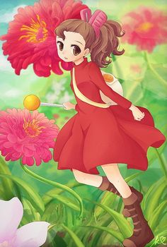 Arrietty, wicked excited for this movie!