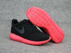 reputable site edfcd 11a62 Nike-Roshe-Run-Black-Siren-Red Nike Shoes Cheap, Running