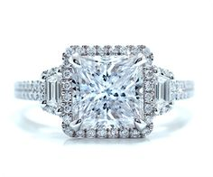 Diamond Engagement Ring from the Vendome collection by Catherine Ryder #ascotdiamonds