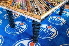 Hockey Stick Coffee Table