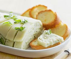 Pesto-Provolone Terrine Serve this appetizer with toasted bread slices or a variety of crackers.