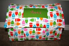 Nap Mat for daycare or home! Napmat made from thick, comfy cotton and batting. Removable pillow for easy laundering!