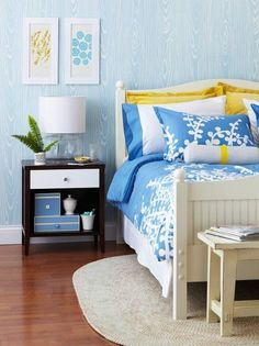 Using The Color Blue To Create Soothing Spaces