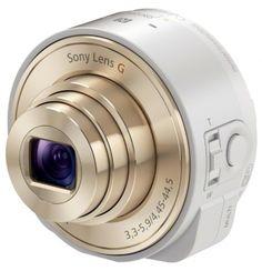DSC-QX10 | DSC QX Series | Panoramica | DSCQX10W.CE7 | DSCQX10 | Sony QX10 Obiettivo fotocamera La fotografia nell'era degli smartphone  Un obiettivo wireless che si connette allo smartphone con un sensore CMOS EXMOR™ R da 18 MP e zoom ottico 10x