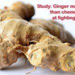 Study: Ginger fights cancer
