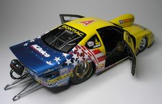 WIP: WJ's 2003 Grand Am Pro Stock. - Scale Auto Magazine - For building plastic & resin scale model cars, trucks, motorcycles, & dioramas Weird Cars, Cool Cars, Nascar Engine, Cool Car Drawings, Auto Body Repair, Plastic Model Cars, Model Cars Kits, Rc Model, Drag Cars
