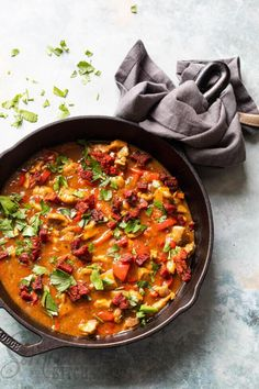 Camping Meal Planning, Camping Meals, One Pot Meals, Easy Meals, Chorizo, Food Inspiration, Love Food, Curry, Dinner Recipes