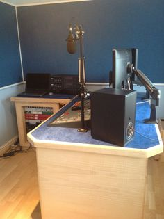 """Studio GZ --- Our high end broadcast desks are made to order and can be customized to suit your studio.   Website: http://sounddesks.co.uk/desks-52-c.asp   We can custom build to suit you, Your design ideas can be made reality, Just contact us!!  Testimonial: """"Kernow Carpentry gives you an effective solution to your studio furniture requirements. They offer sound advice without interfering and provide quality craftsmanship with an eye to detail."""" http://www.garyziepe.com/"""