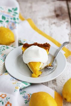 Design to Dish: Lemon Cream-Cheese Pie