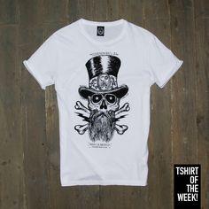 """Che ne dite della stampa """"Rubby Skull"""" della #TshirtOfTheWeek di oggi? #OutThereMasFina Acquistala subito >> http://www.scorpionbay.com/it/store/uomo/t_shirt/t_shirt-94429"""