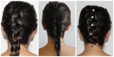 Como fazer: Trança embutida e Trança embutida invertida / Penteados