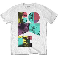 David Bowie Men's Tee: Colour Sax Wholesale Ref:BOWTS18MW