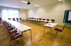 Der geteilte #Seminarraum #Untersberg, hier Untersberg 2, bietet Platz für bis zu 25 Personen.