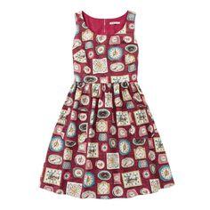 Clocks Sleeveless Jacquard Dress | Under £50 | CathKidston