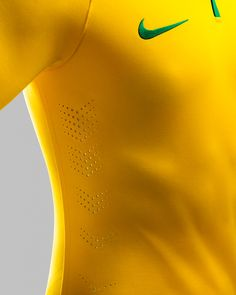 NIKE unveils brazil's 2014 world cup home kit