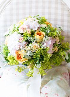 Bridebouquet - Konzept Umsetzung & Photography by www.english-rosarium.ch