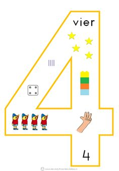 Kleuterjuf in een kleuterklas: Cijfersymbolen om in de klas te hangen | Beginnende gecijferdheid Math For Kids, Lessons For Kids, Fun Math, Math Games, Math Activities, Preschool Boards, Numbers Preschool, Kindergarten Lessons, Math Lessons