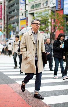 City smartcasual: Takahiro Kinoshita- (Editor) Popeye Magazine