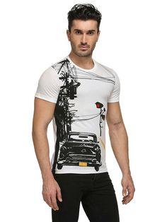Men's Cotton Graphic T-Shirt