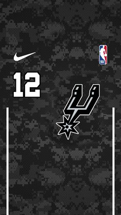 Sports Basketball, Basketball Jersey, Nba Uniforms, Nba Pictures, Team Wallpaper, Spurs Fans, Sports Wallpapers, Nba Players, Printable Stickers