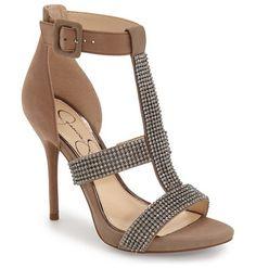 JESSICA SIMPSON barerra sandal found on Nudevotion