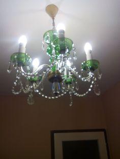 5ti ramenný lustr Kamenický šenov