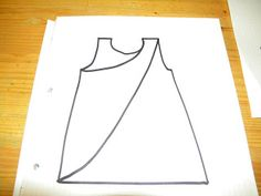 good pictures for creating a smock apron--Mom and her ghosts: Pippi Longstocking apron and how the pattern making