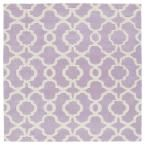 Revolution Lilac (Purple) 11 ft. 9 in. x 11 ft. 9 in. Square Area Rug