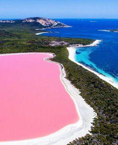 Lago Hillier na Austrália wish list