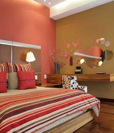 Departamento Jomap: Recámaras de estilo moderno por DIN Interiorismo #decoracionderecamaras