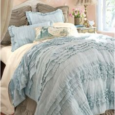 Hadley ruched sham euro white discover more ideas for The master bedroom tessa hadley