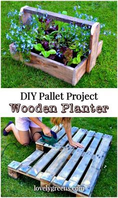 DIY Trugs & Wood Pallet Planters - 150 Best DIY Pallet Projects and Pallet Furniture Crafts - Page 18 of 75 - DIY & Crafts