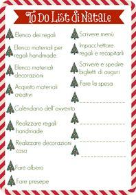 La To Do List di Natale - Natale Organizzato