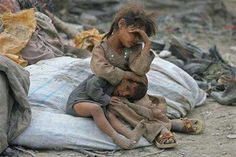 This picture makes me appreciate what I have so much more, and it hurts me to see this, and know how many people in the world are suffering.